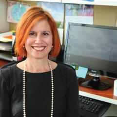 Headshot of Dr. Cynthia Klein-Banai, UIC Director of Sustainability